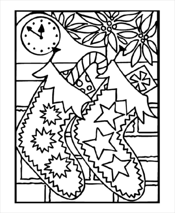 - 24+ Christmas Coloring Pages - Free PDF, Vector, EPS, JPEG Format Download  Free & Premium Templates