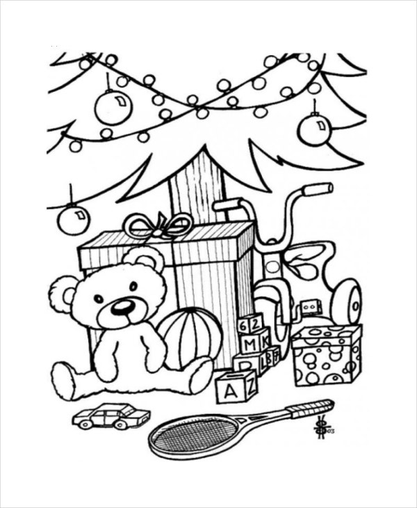 Coloring Book For Me Premium Download Christmas Pages Free Pdf Vector Eps Jpeg
