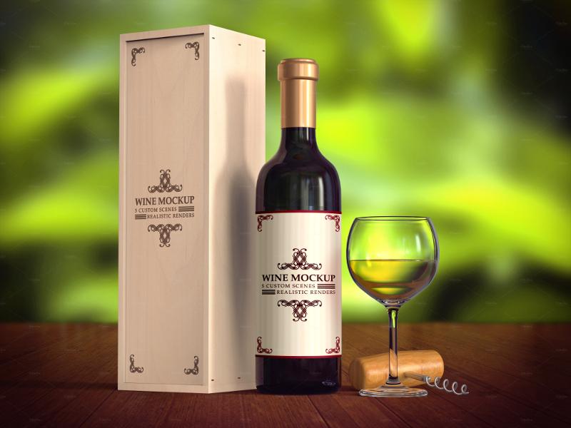 5-elegant-scene-wine-mockup-pack