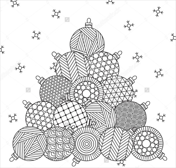 22 Christmas Coloring Pages