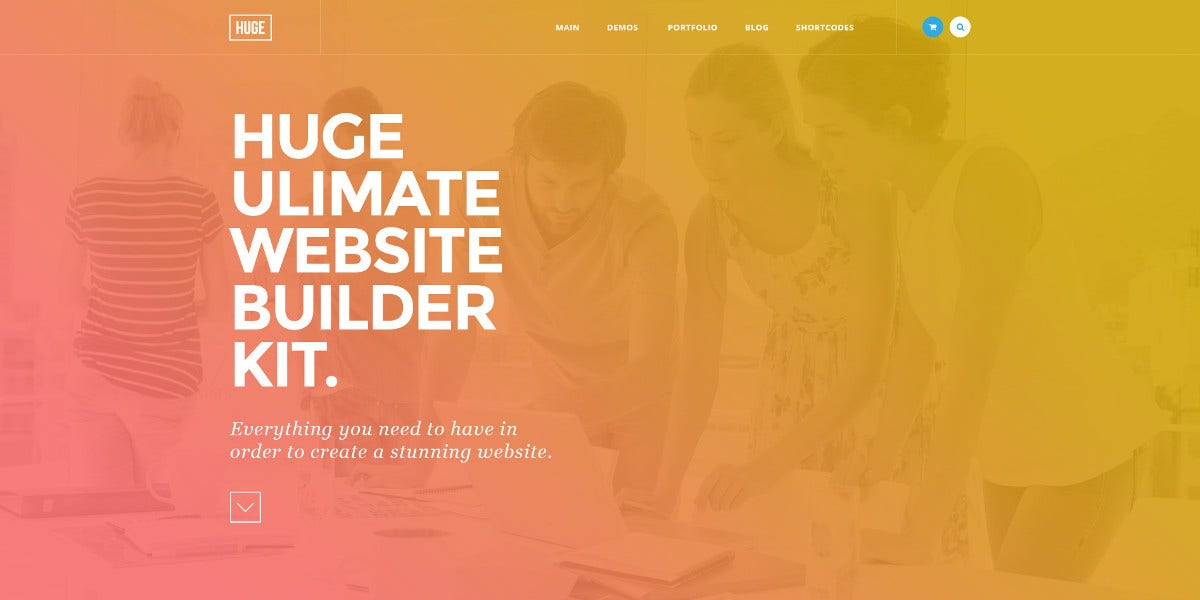 ultimate multipurpose psd template