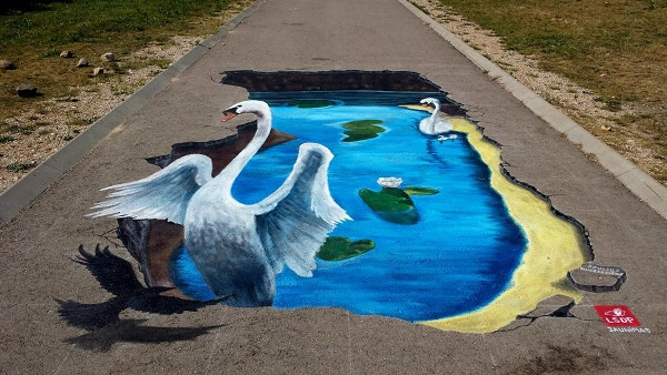natural-lake-3d-street-art