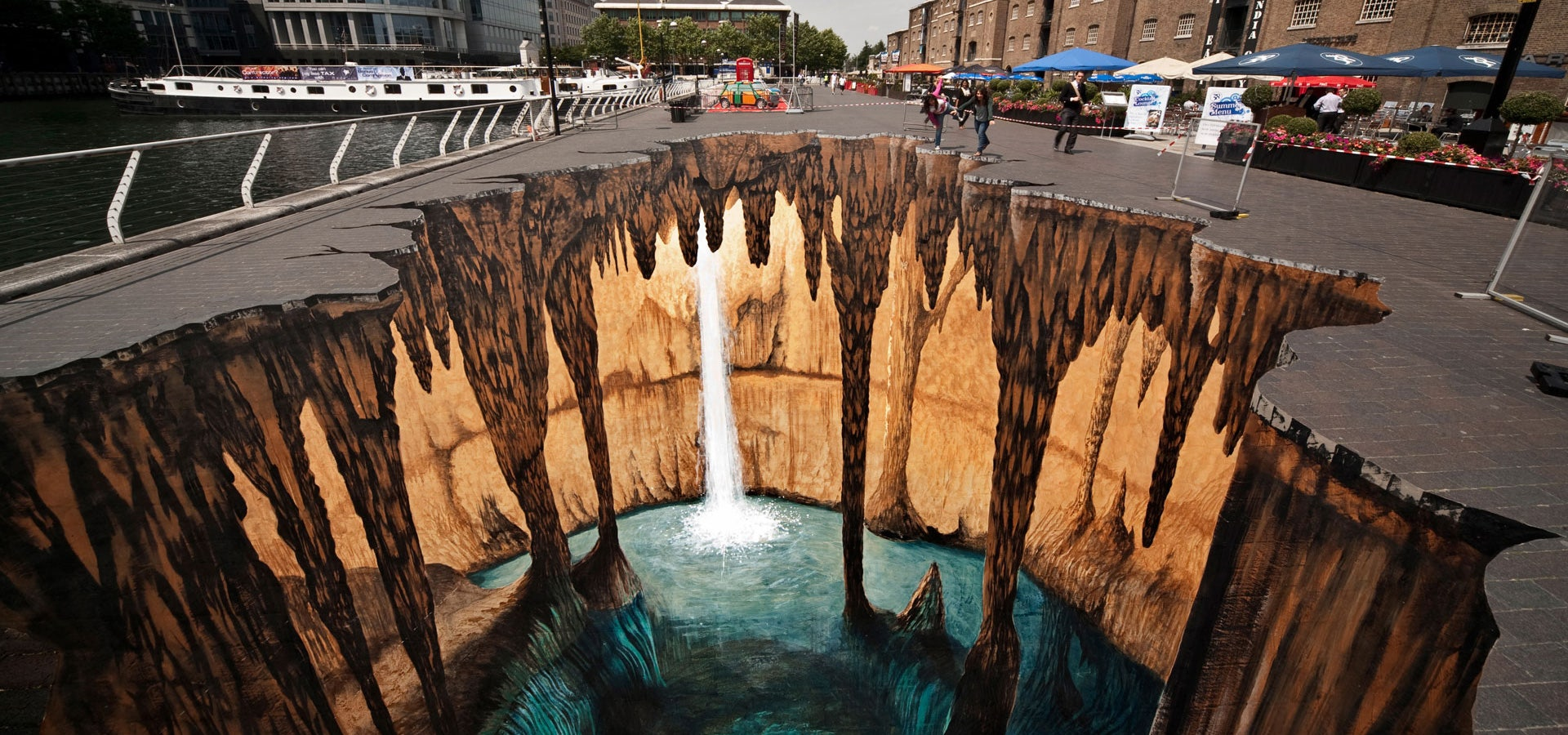 Ever since the graffiti boom street art started evolving with various forms and subsets such as 3d art and flash mob in fact graffiti and street art are
