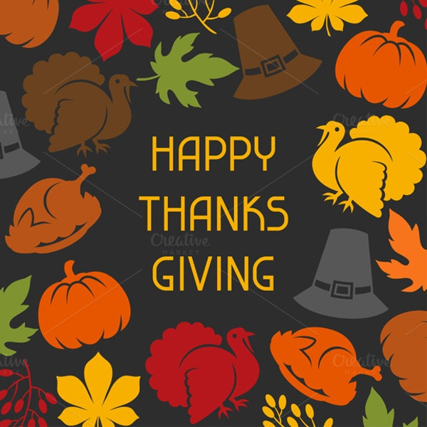 Thanksgiving Pattern Backgrounds