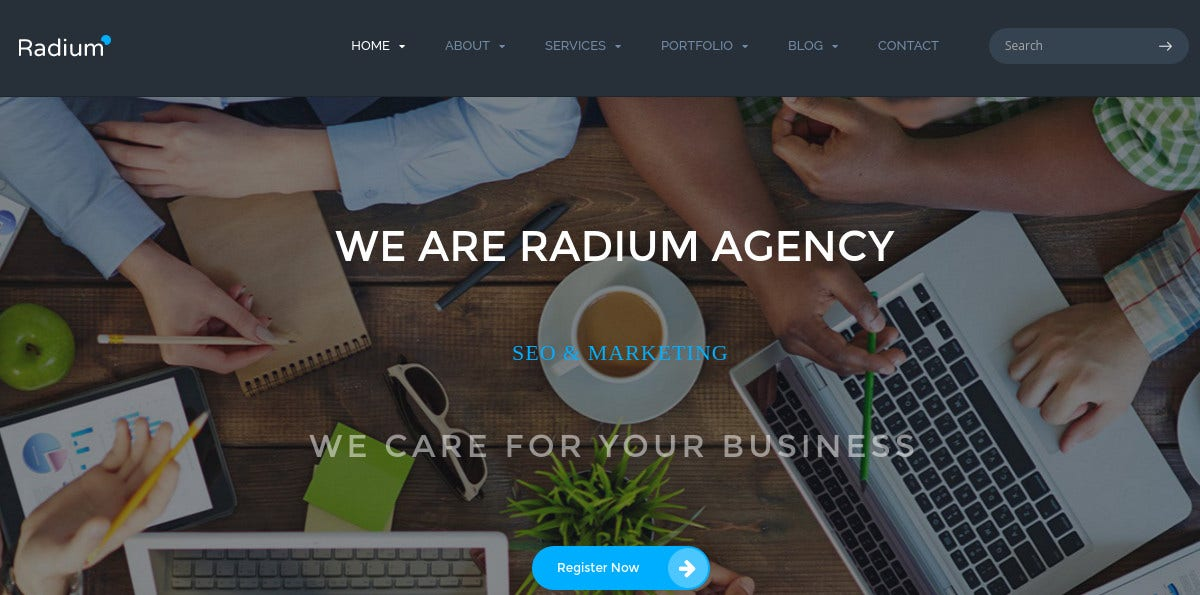 digital agency portfolio theme 49