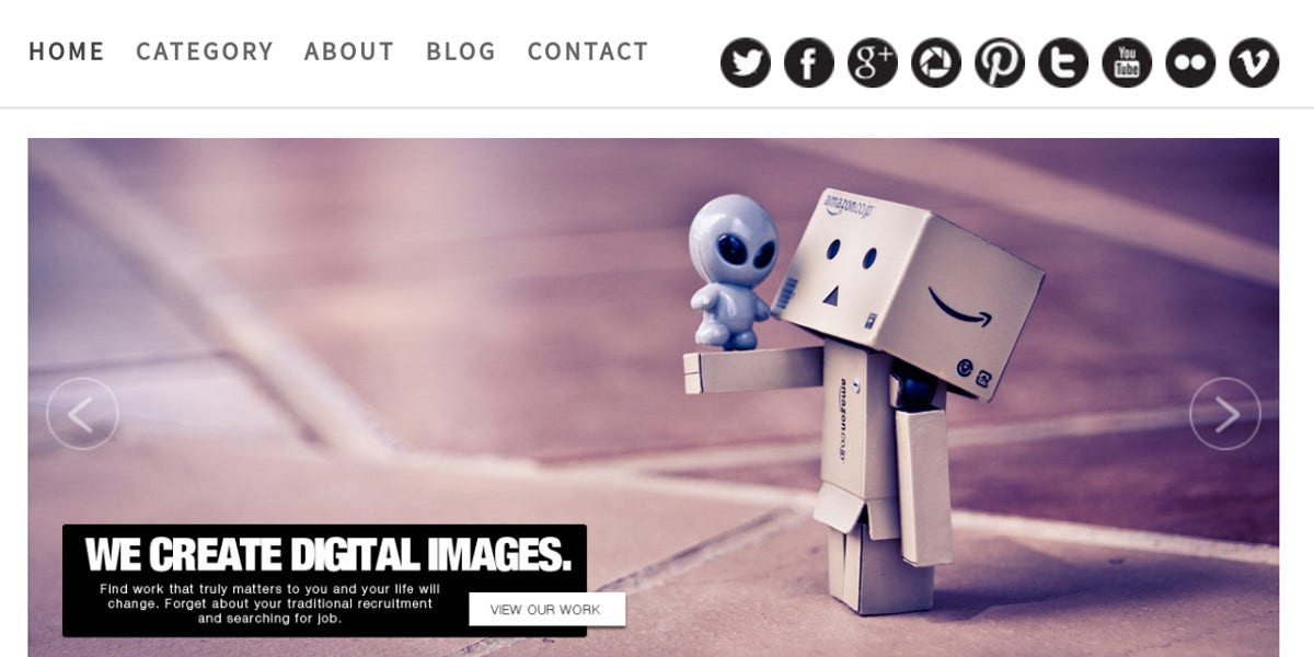 Creative Agency WordPress Theme