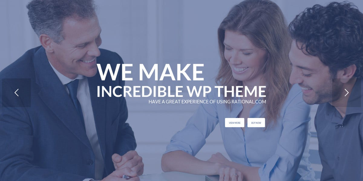 one page business digital agency wordpress theme