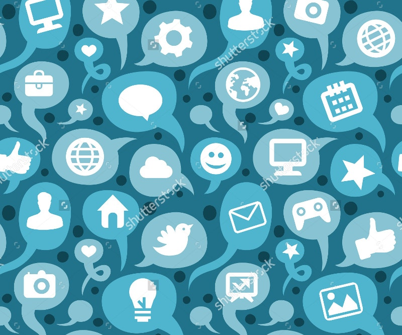 social-media-icons-seamless-pattern