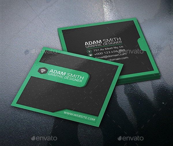 22 square business cards free psd eps illustrator format
