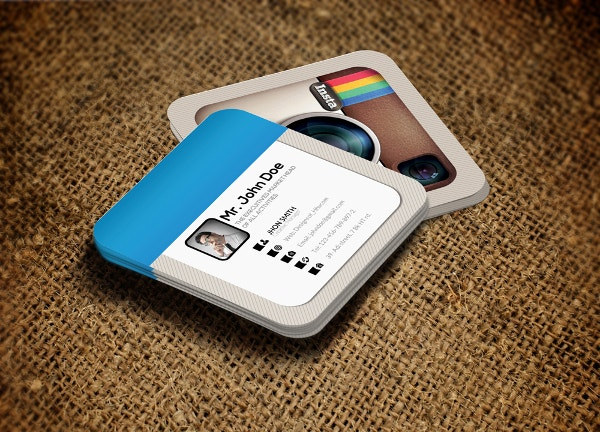 Instagram Social Card Template