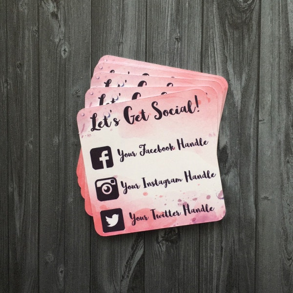 22 square business cards free psd eps illustrator format custom social media card reheart Gallery