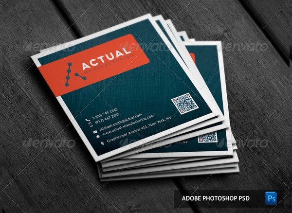 22 square business cards free psd eps illustrator format square brushed metal business card reheart Image collections