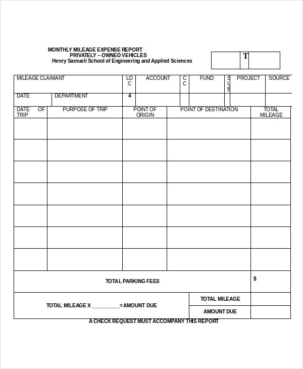 mileage-expense-report-template