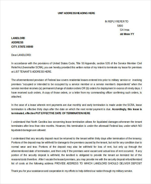lease-termination-letter