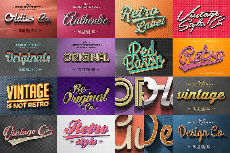 50-retro-text-effects-bundle