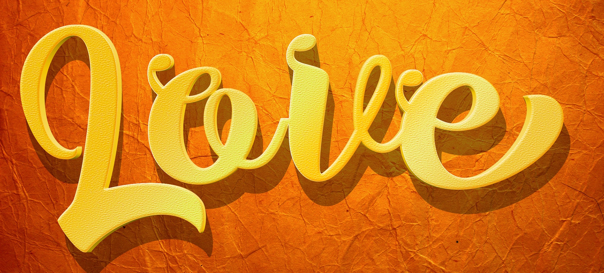 22+ Examples of 3D Text Effects for Designers - PSD, AI