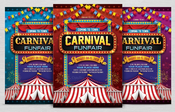 Carnival Flyer Invitation to Print