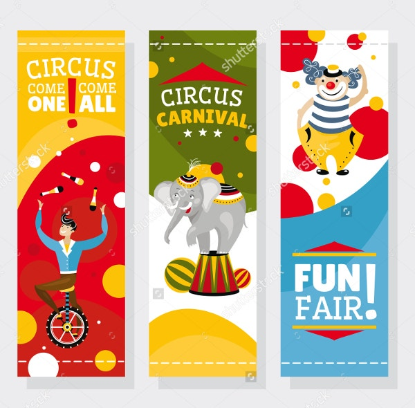 Carnival Banner Invitation Template