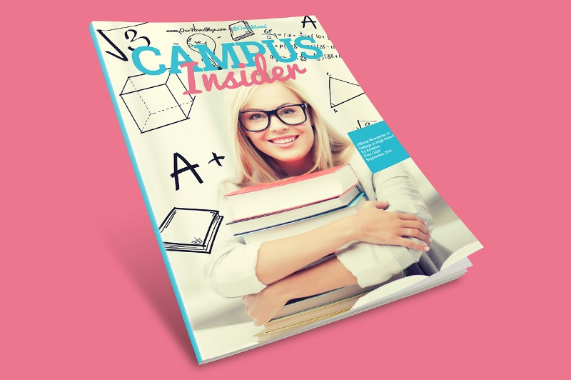 newsletter magazine design