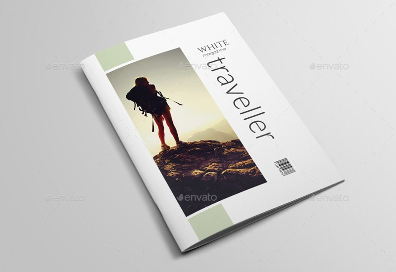 classic travel magazine template