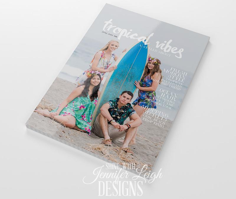 model-magazine-design