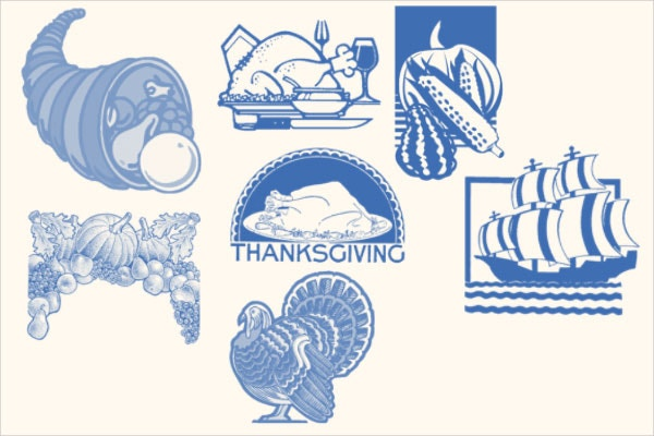 Free Thanksgiving Photoshop Brushes