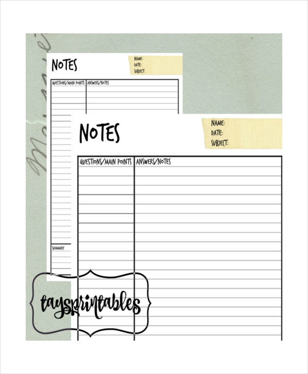 printable-cornell-notes