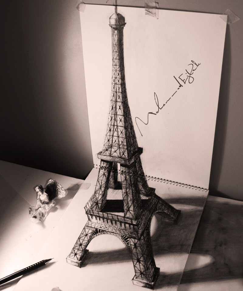 eifil-tower-designed-with-pencil