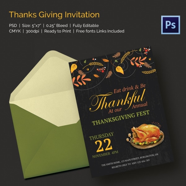 thanks giving invitation2