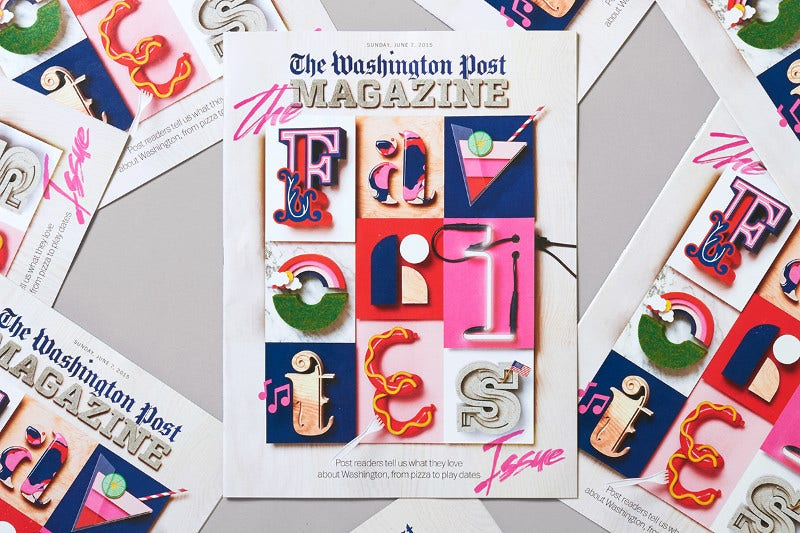 the washington post magazine modern design