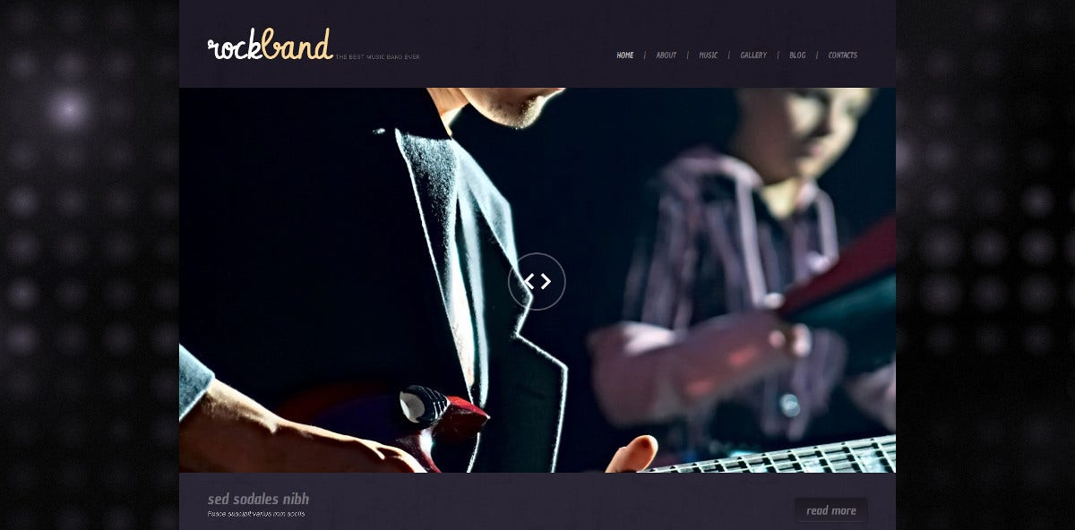 music band latest albums responsive wordpress website theme 75