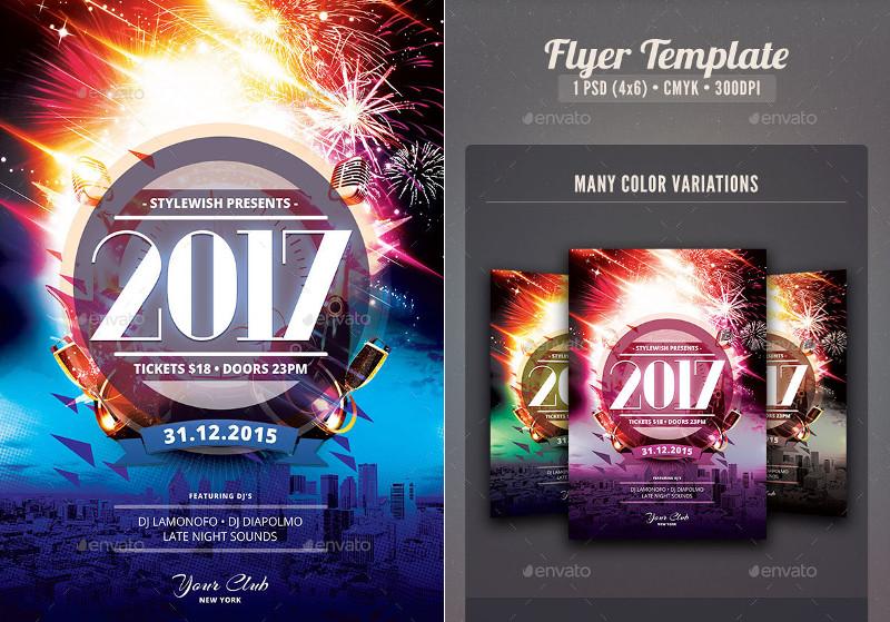 skyline-new-year-2017-poster