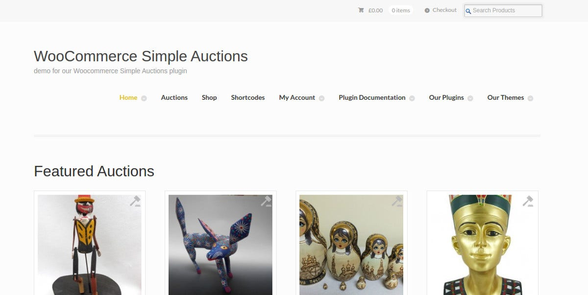 woocommerce simple auction theme 19
