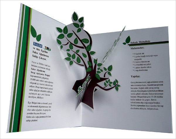 14 pop up brochures free psd vector eps png format for Pop up brochure template