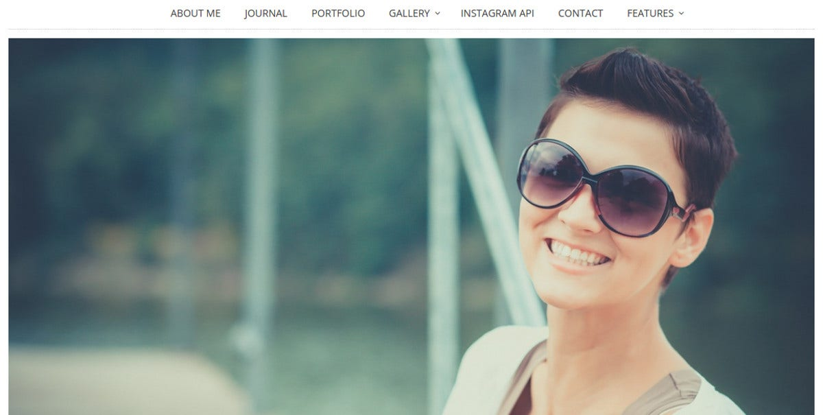 Designer Photography WordPress Theme $39