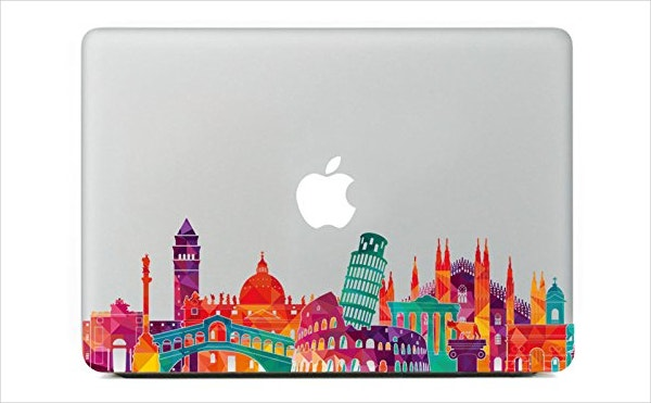 Italy Architecture Macbook Sticker