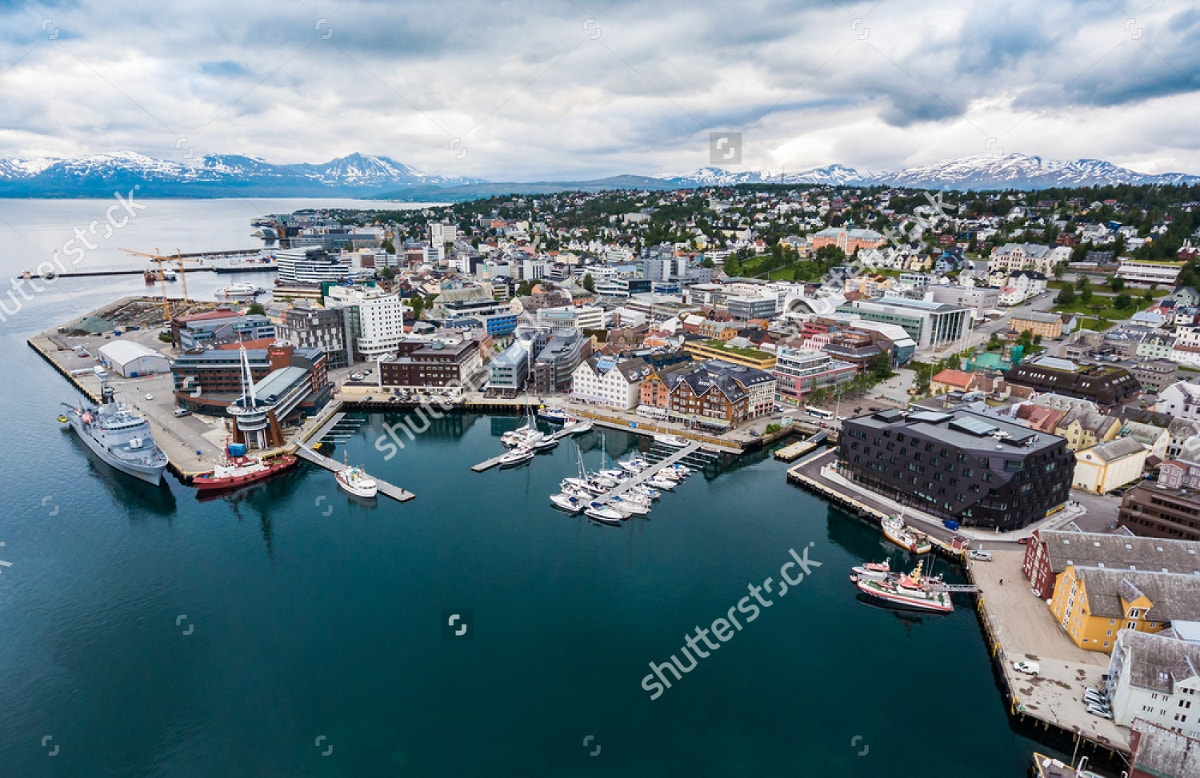landscape-photography-of-city-tromso