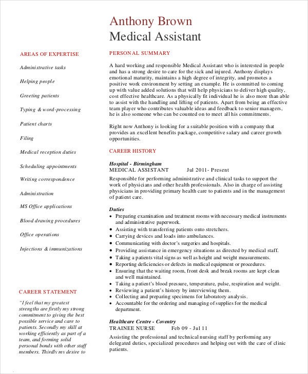 medical administrative assistant resume1