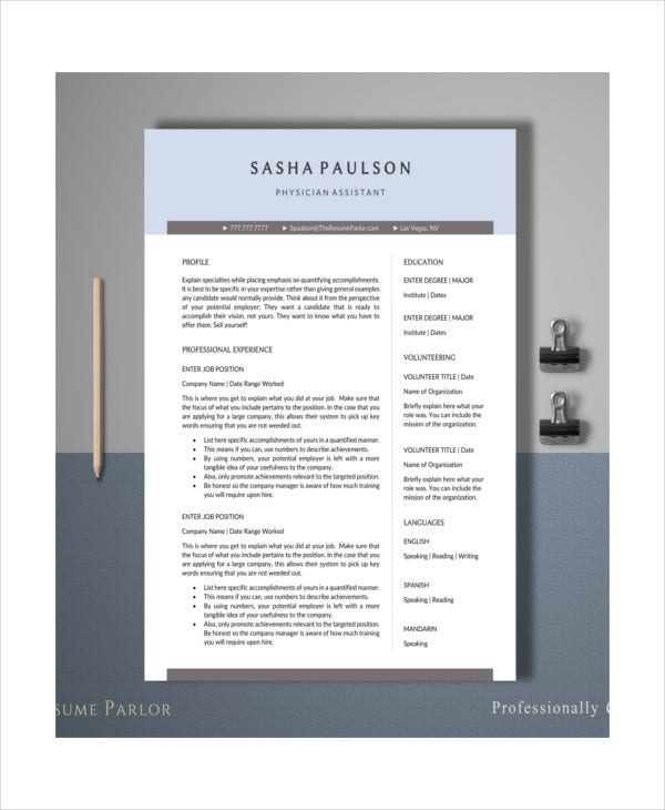 physician-medical-assistant-resume-template