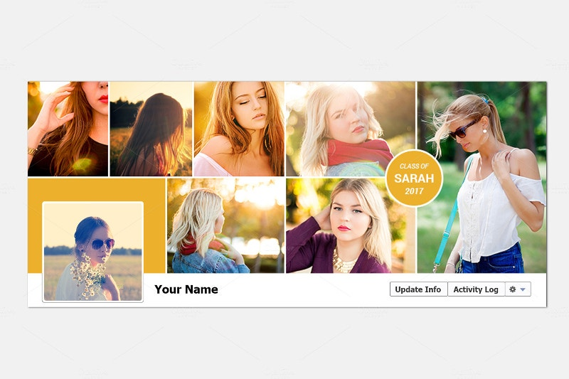 marketing facebook cover template