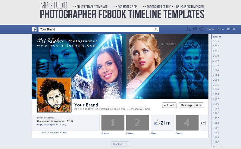 facebook timeline cover for photographers