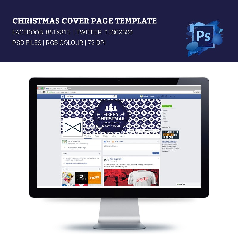 33 facebook timeline cover page templates designs free
