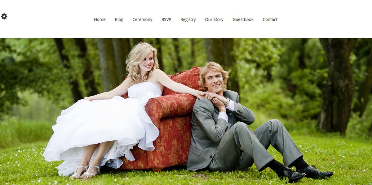 unique free wedding wordpress website theme
