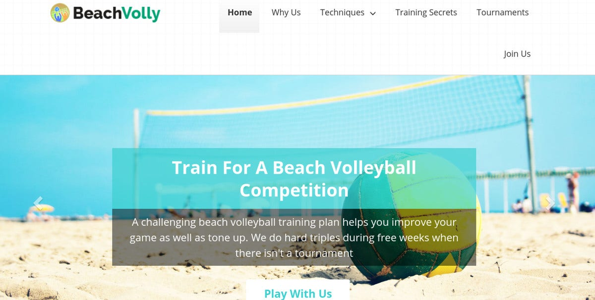 Summer Sports Beach WordPress Website Theme $79