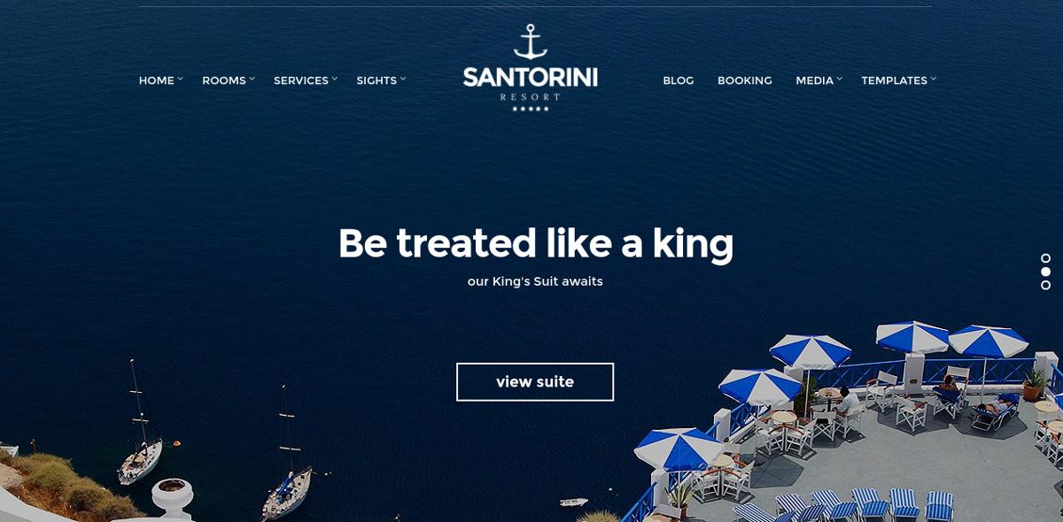professional beach wordpress website theme 39