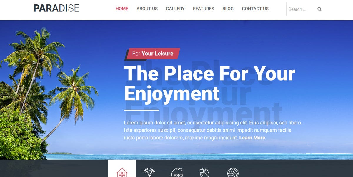 Hotels &Joomla Website Theme $39