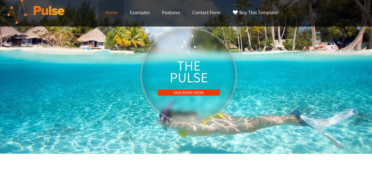 beach resort joomla website template