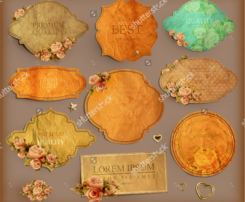 vintage-labels-with-flowers