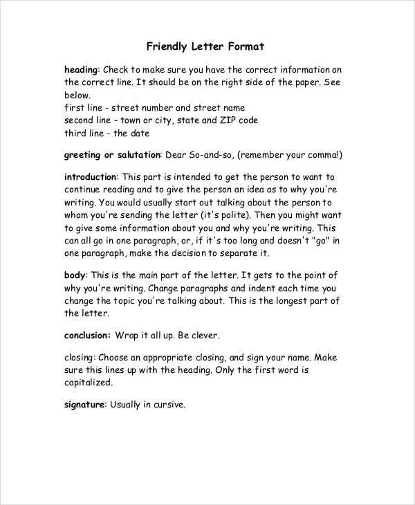 Printable Friendly Missing You Letter Template Free Word Format Min