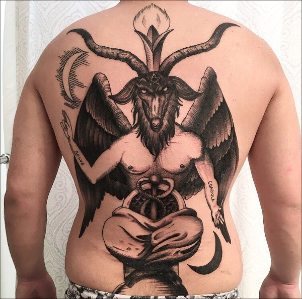 Modern Devil Made Man Tattoo